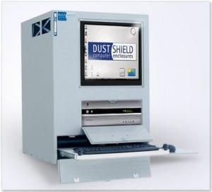 Monitor, Desktop CPU and Keyboard DustShield™