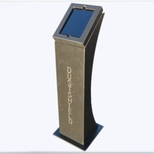 dustshield tablet kiosk