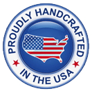 handcrafted in USA logo